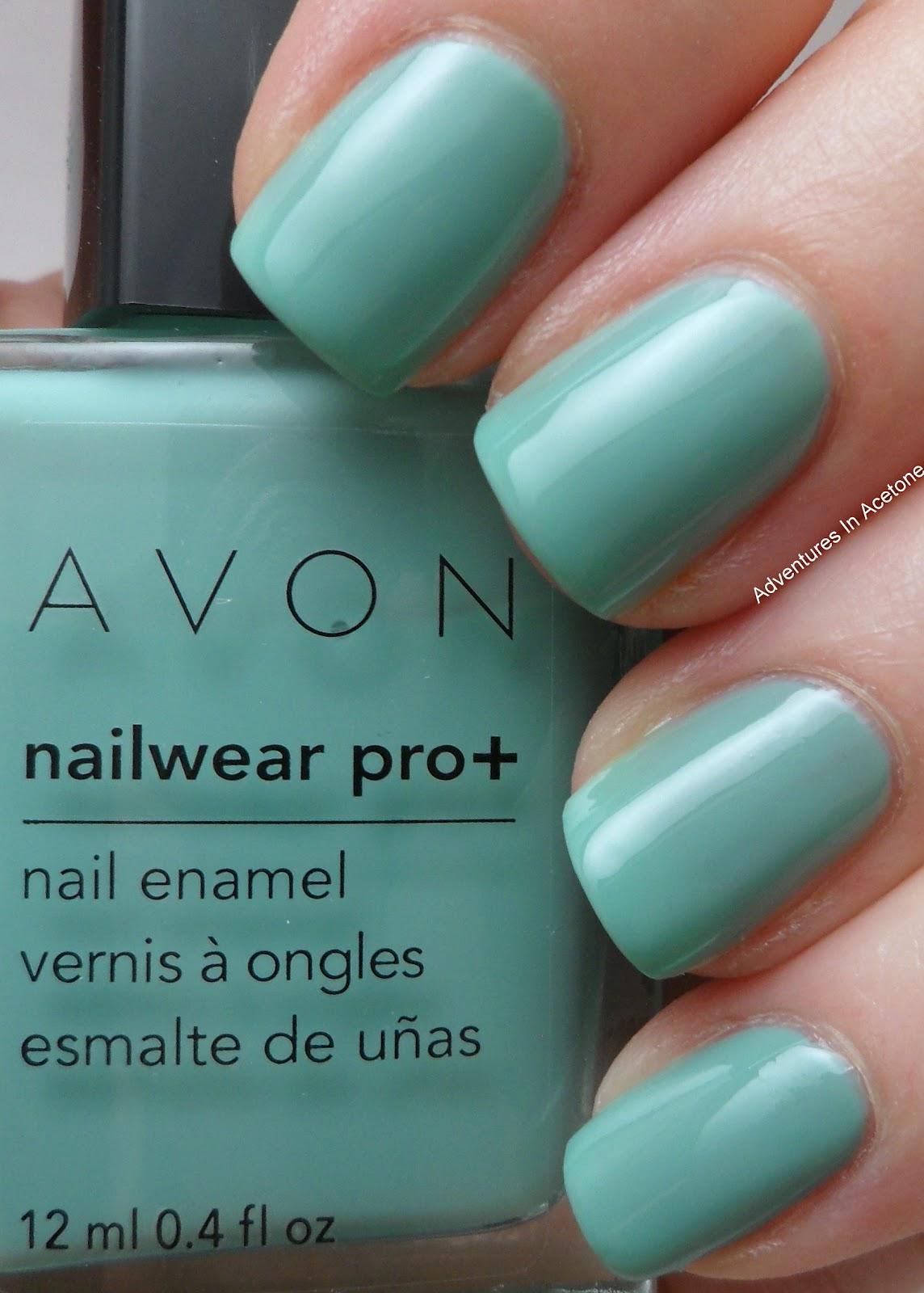 Creme Grant Using Avon Nailwear Pro