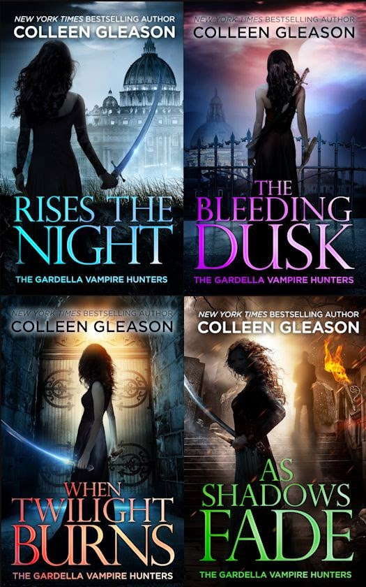 The Gardella Vampire Hunters Series by Colleen Gleason
