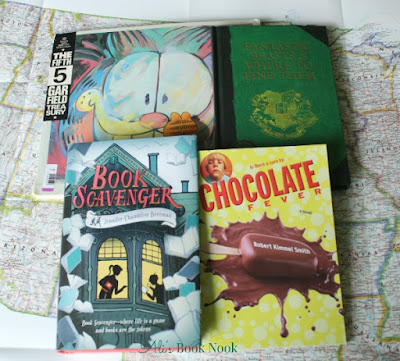 what reading material to pack on your road trip kids books comics middle grade chapter book