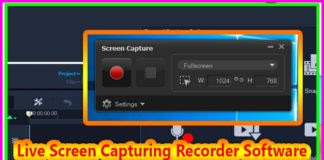 Live Screen Capturing Recorder Software for Windows Xp/7/8/10