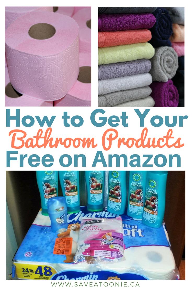 Get Bathroom Products Free on Amazon