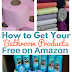 How to Get Bathroom Products Free on Amazon