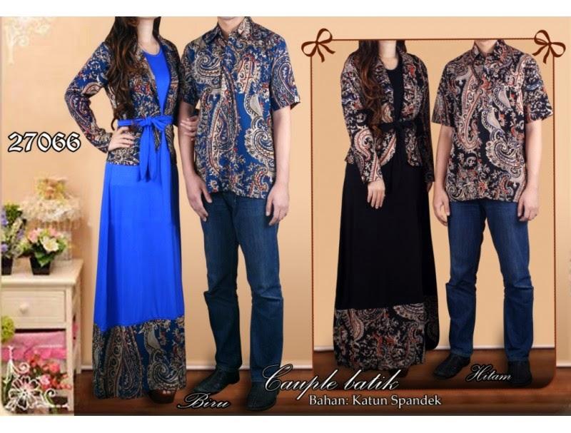 10 model batik couple modern 2017