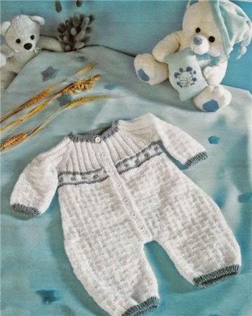 Hobby lavori femminili  ricamo  uncinetto  maglia tutina neonato maglia ai ferri