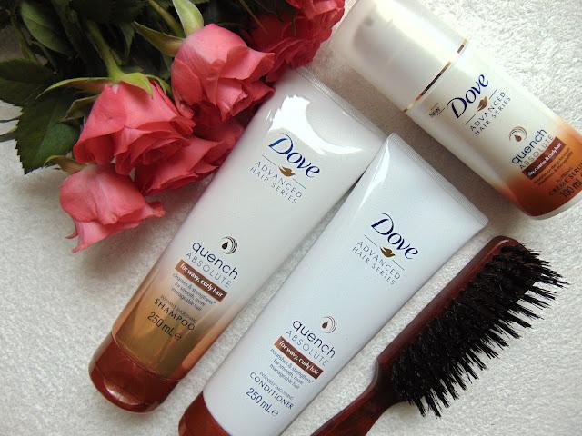 Dove Advanced Hair Series - Quench Absolute - Produkty do włosów kręconych i falowanych