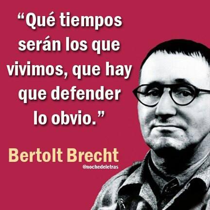 La Maldición De Mi País Frases Célebres De Bertolt Brecht
