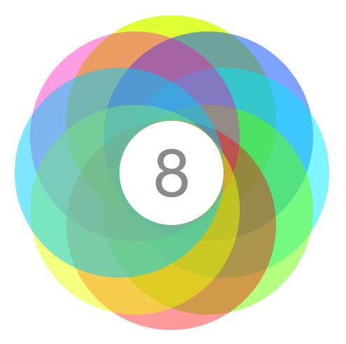 Apple iOS 8 Logo Design