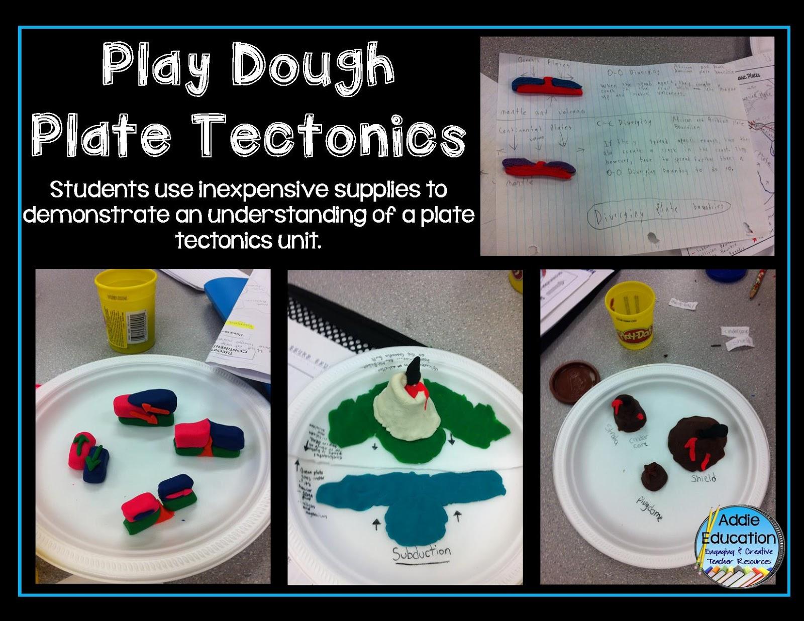 Plate Tectonic Play Dough