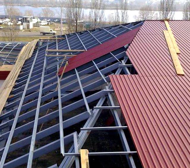 стоимость покрытия крыши