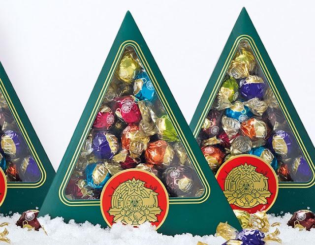 Lavi Çikolatalı Yılbaşı Ağacı Kutusu