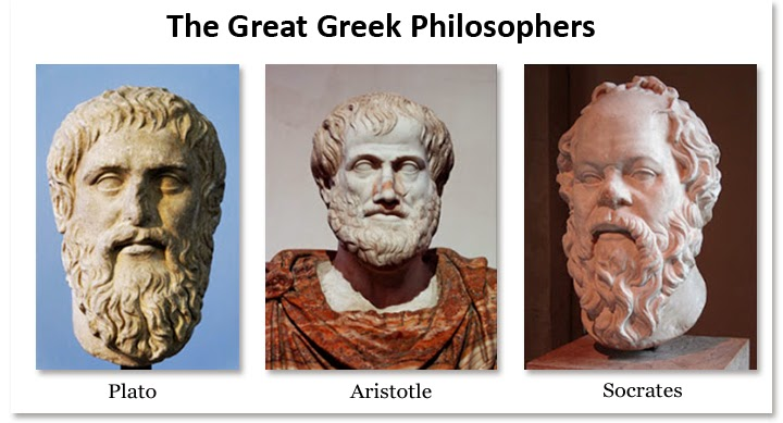 Hasil gambar untuk socrates plato dan aristoteles