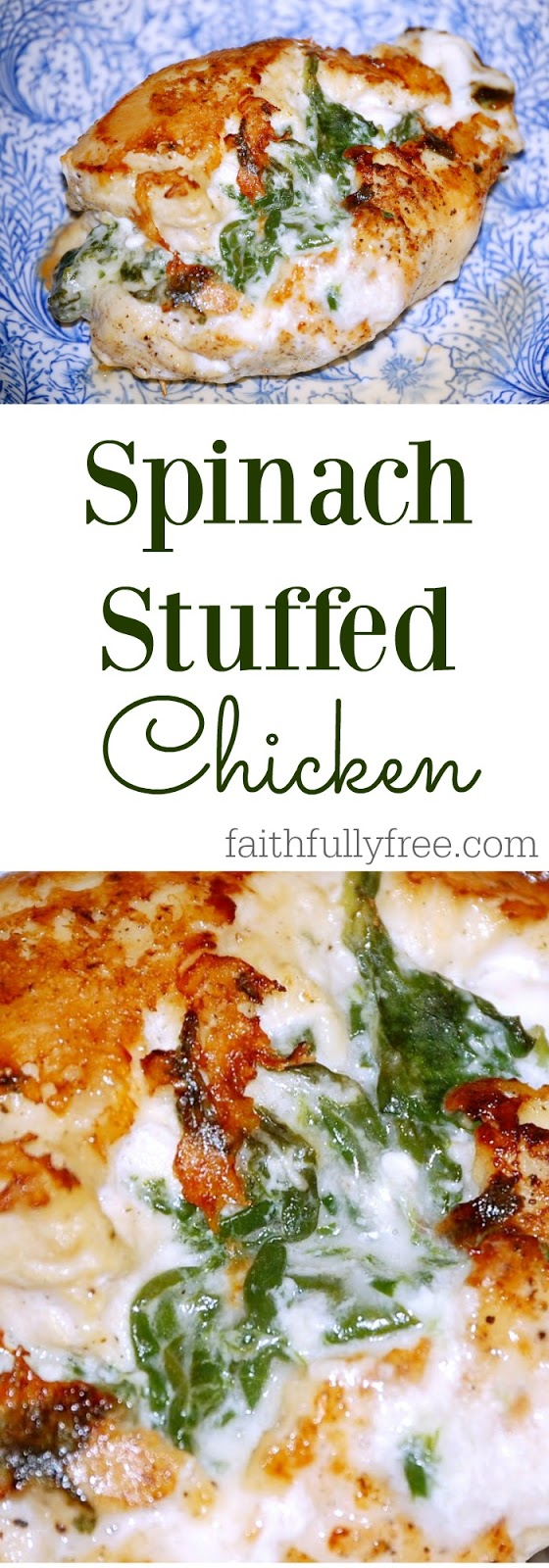 Spinach Stuffed Chicken Breast Recipe