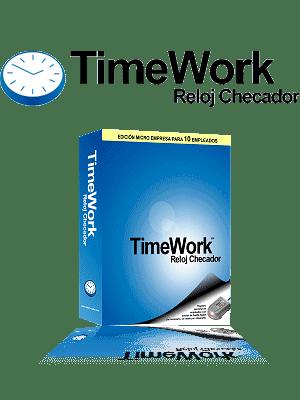 TimeWork Reloj Checador box Imagen