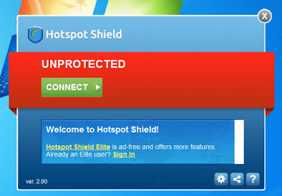 Free Download Softeare Hotspot shield 5.4.9 For Windows