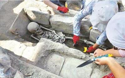 Βυζαντινοί τάφοι ανακαλύφθηκαν στην αρχαία ελληνική πόλη Στρατονίκεια