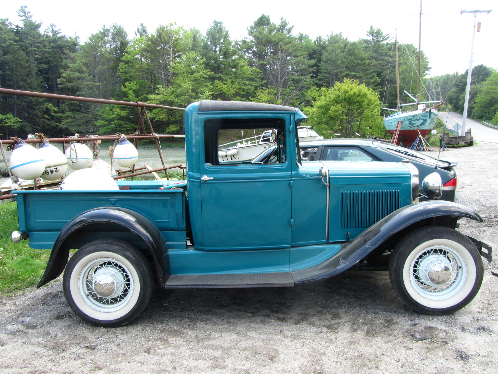 autoliterate the boatyard truck 1931 ford model a pickup. Black Bedroom Furniture Sets. Home Design Ideas