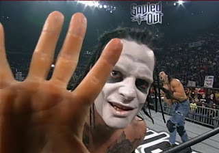 WCW Souled Out 2000 - Vampiro faced David Flair and Crowbar