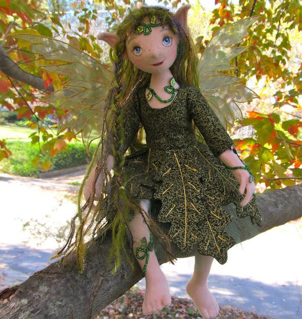 Fairies Nest - Ooak Cloth Dolls & Fiber Fantasies