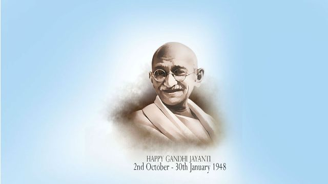 Gandhi Jayanti Status for Facebook, Whatsapp DP