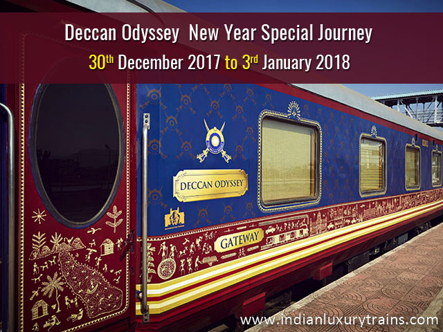 Deccan Odyssey Special Journey Susegado Goa on New Year