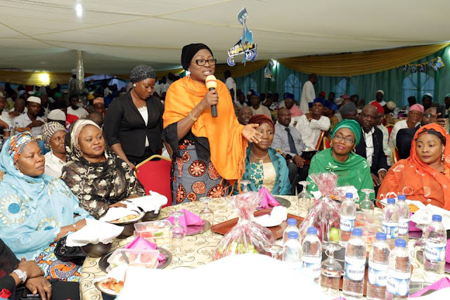 Bolanle Ambode preaches love, tolerance at Ramadan