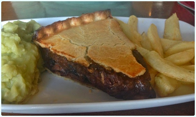 The Gerrard Arms, Aspull - Steak Pie
