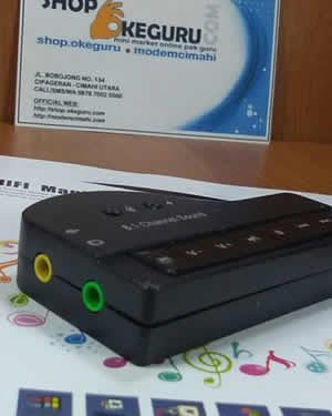 USB Sound Card Model Piano 7.1 Channel