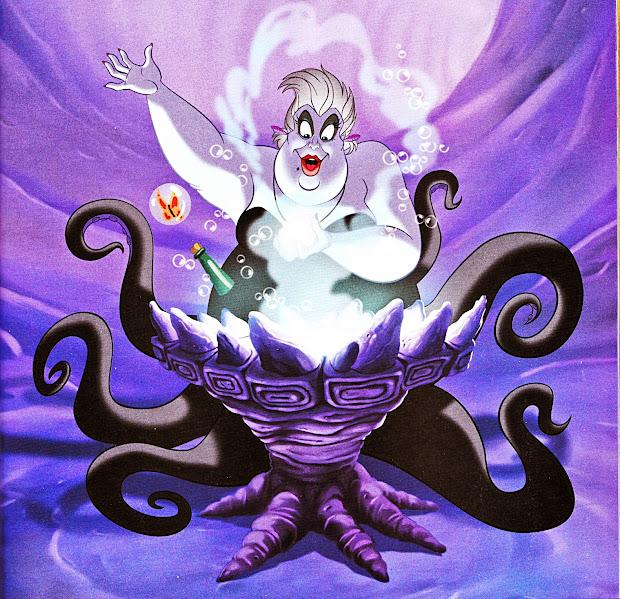 Authorquest Analyzing Disney Villains Ursula