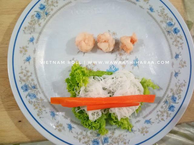 Resepi Vietnam Roll & Sos Mudah 3