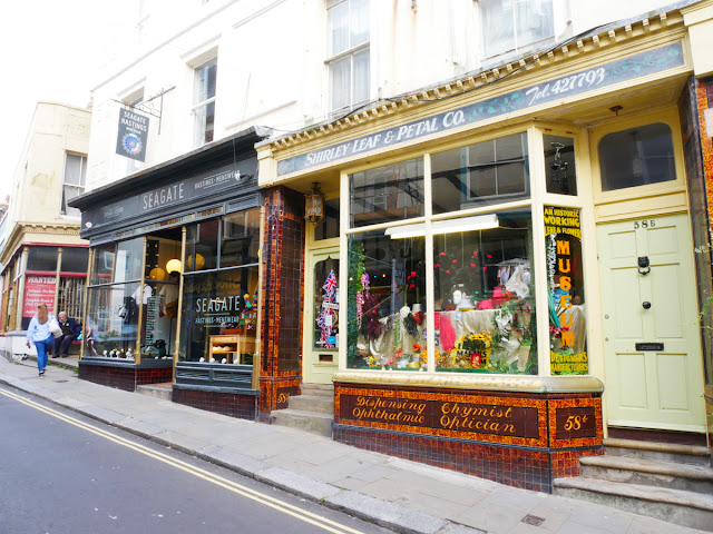 Some of the independent shops cropping up in Hastings old town