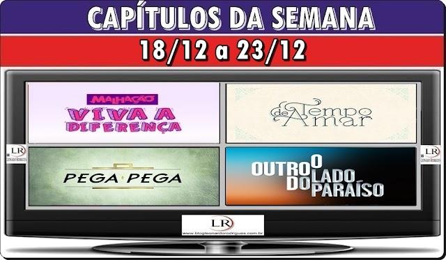 RESUMO DAS NOVELAS - 18/12 A 23/12