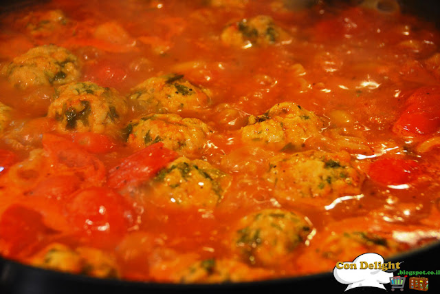 קציצת דג ברוטב fish balls in sauce