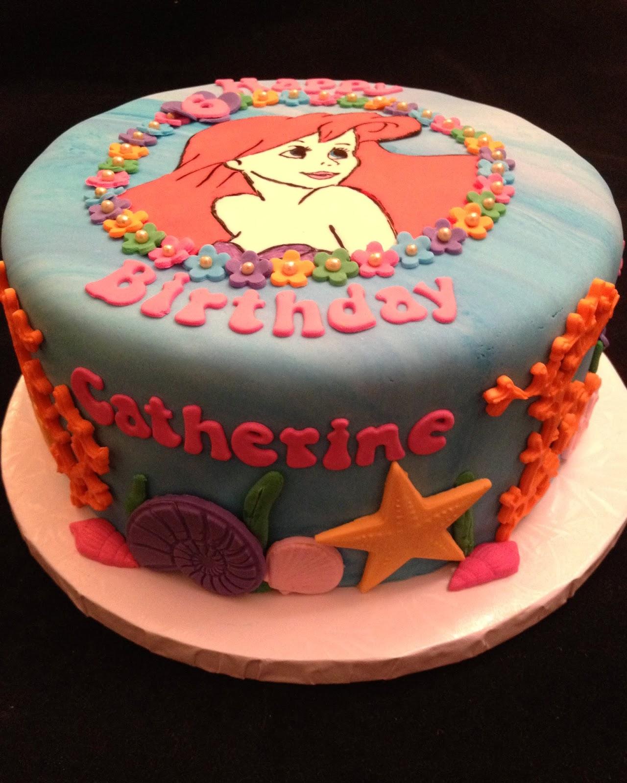 Catherine's Little Mermaid Cake