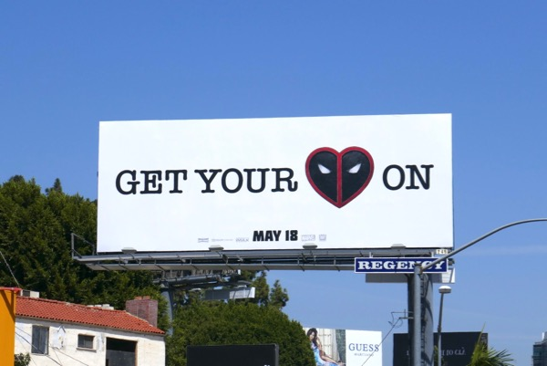 Get your Deadpool on billboard