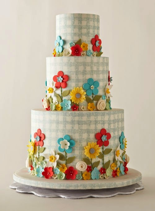 Spring and Summer Ideas Wedding Cakes