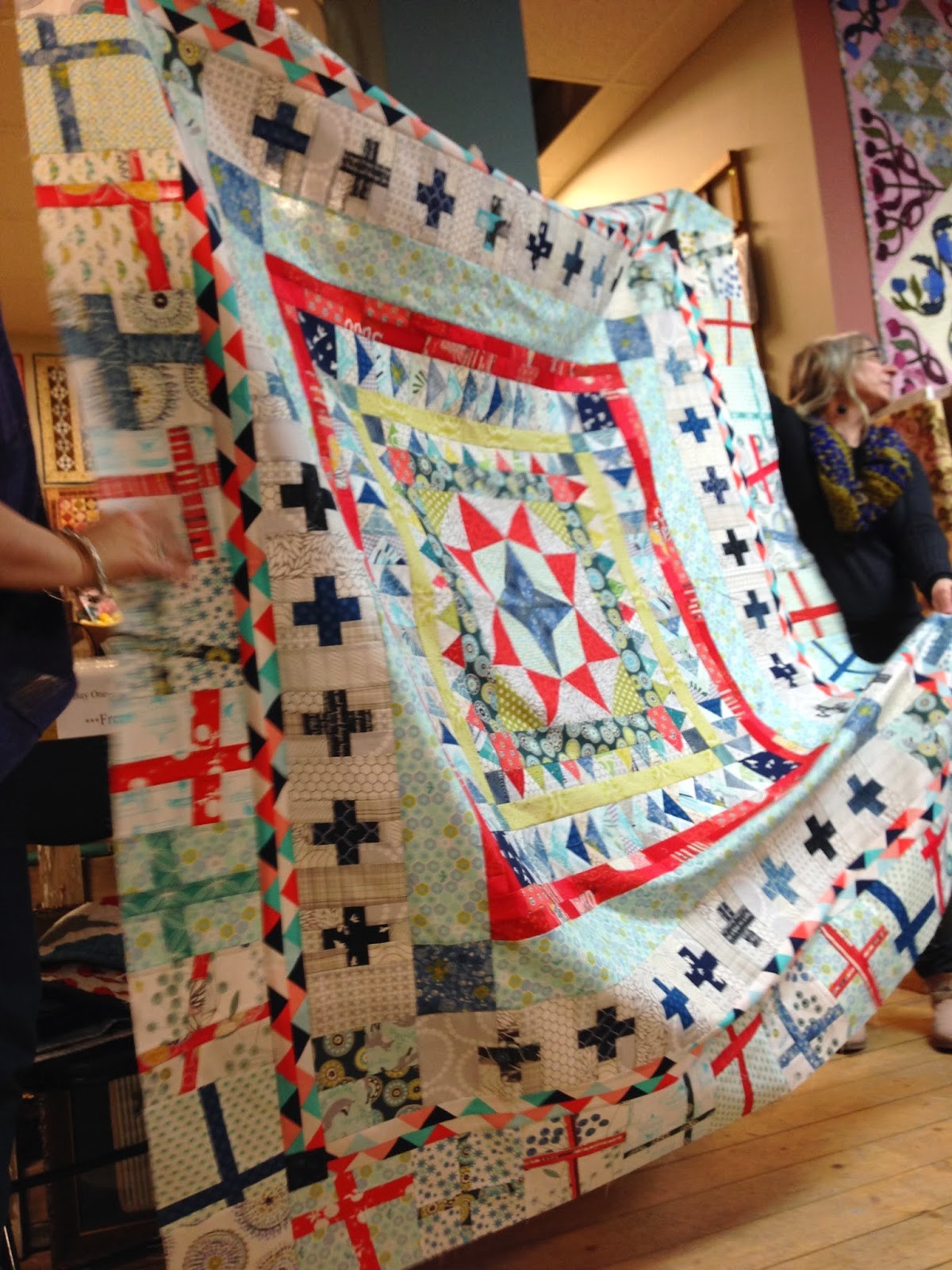 Liberty Love Marcelle Medallion Quilt