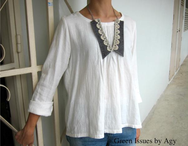 collar, cuello, reciclar, costura, customizar, bisutería