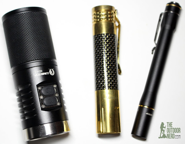 Lumintop Prince (Brass) [1x18650 EDC Flashlight] - And Friends