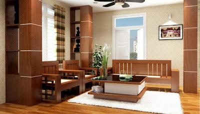 Một sàn nhà đẹp nhờ kết hợp sàn gỗ