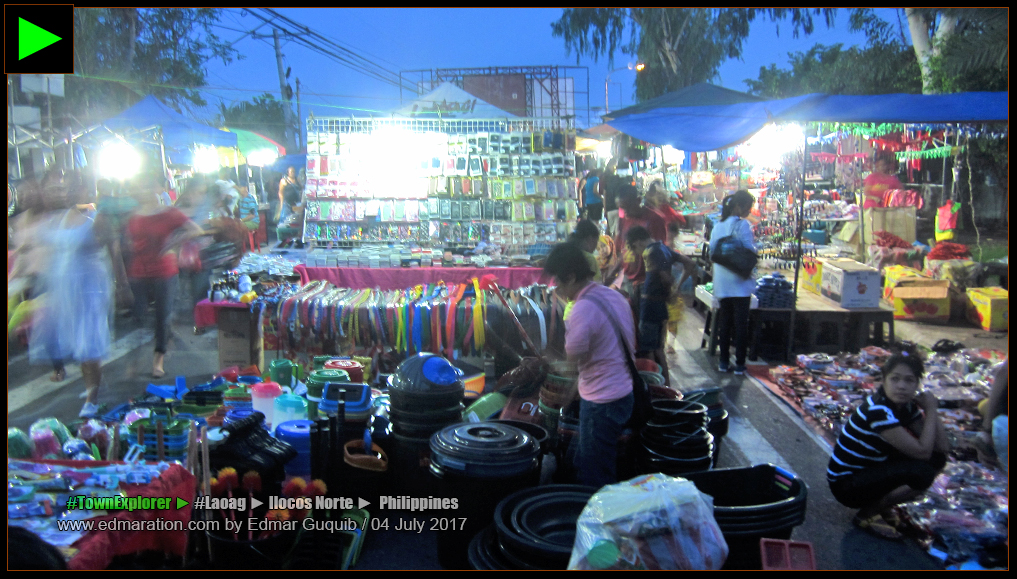 LAOAG NIGHT MARKET