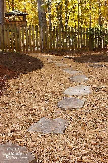 Home decor beautiful diy garden path ideas for Diy garden path designs