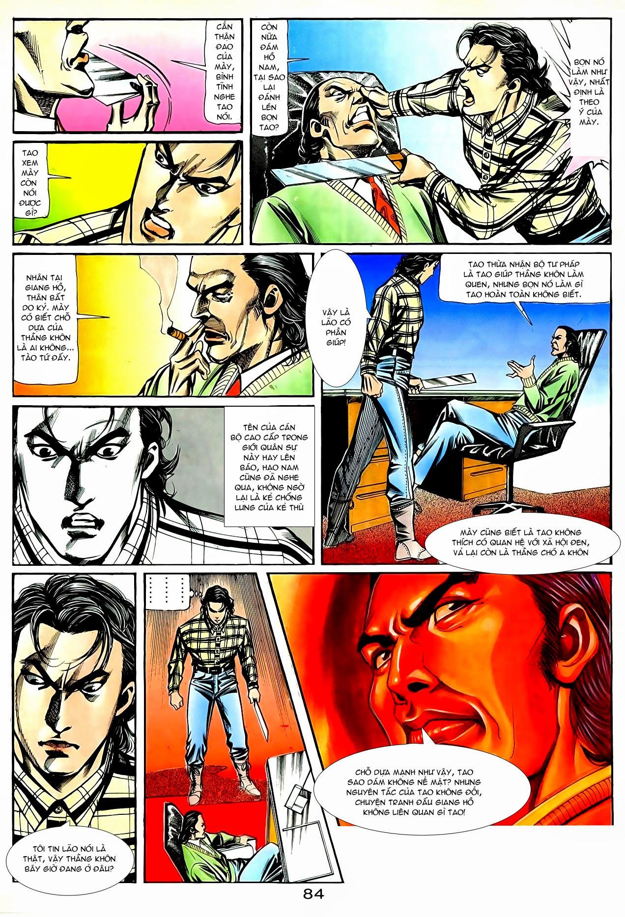Người Trong Giang Hồ chapter 90: giang hồ hiểm trang 20