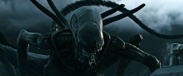 Una de las escenas finales de Alien Covenant