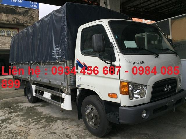 Hyundai HD75s thùng bạt