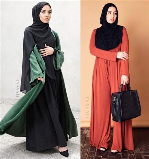 Model Baju Muslim Syar'i Modis Elegan Terbaru 2017/2018