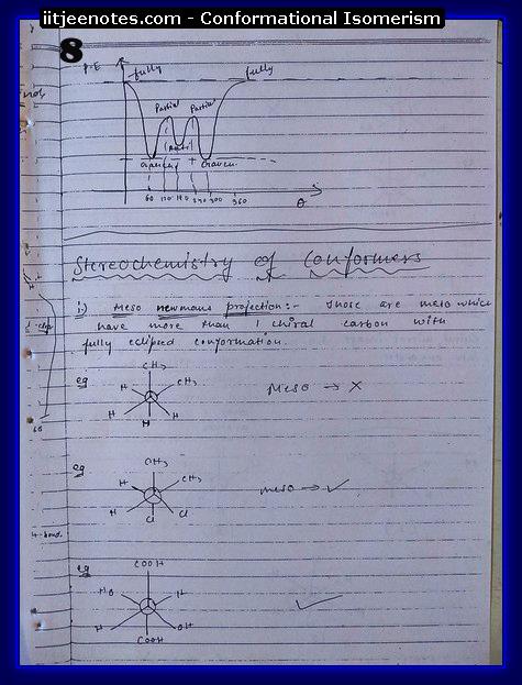 Conformational Isomerism8