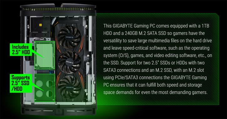 Gigabyte BRIX GT, Mini PC Gamer's dream with Intel Core i7 6700K