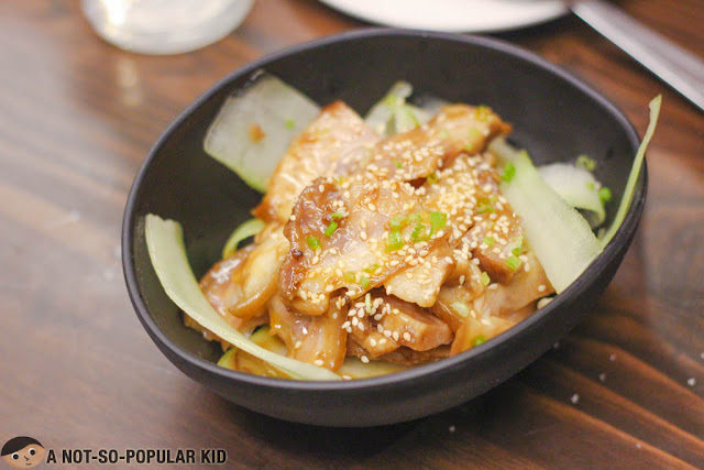 Pork Ear's Salad - Invention by Chef Gokioco