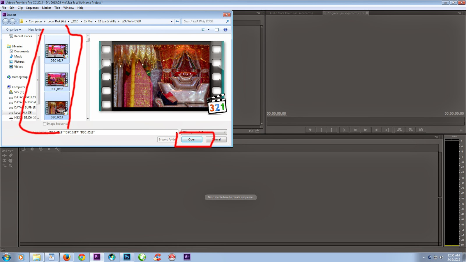 Tutorial Video Editing Adobe Premiere Pro CC 2015 bahasa