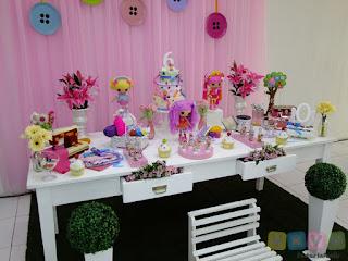 Decoração festa infantil Lalaloopsy